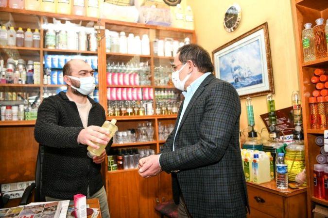 Samsun'da esnafa 7,4 milyon TL pandemi desteği