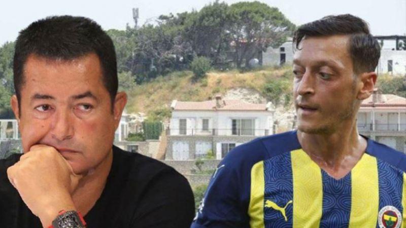 Acun Ilıcalı ve Mesut Özil'e büyük şok! Ultra lüks villalarına yıkım kararı çıktı...