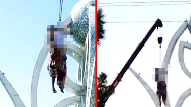 Taliban halka açık idamlara başladı! 4 kişiyi vince asıp öldürdüler