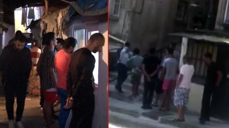 Bu görüntü polis ekiplerini harekete geçirdi! Beyoğlu'nda uyuşturucu kuyruğu...