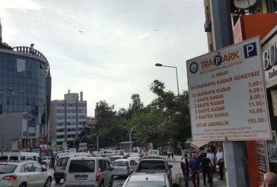 Trabzon esnafı park ücretleri alınmasından dolayı şikayetçi