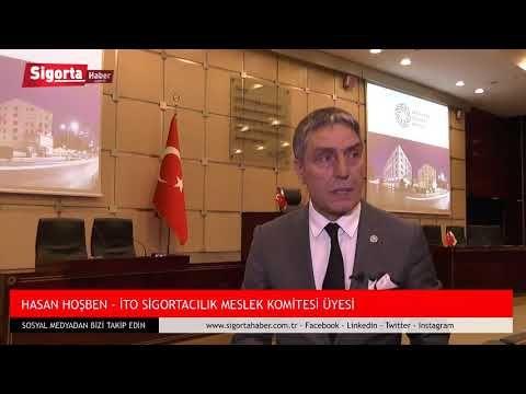 Hasan HOŞBEN, İTO Sigortacılık Meslek Komitesi Zümre Toplantısı öncesi Sigorta Haber'e konuştu.