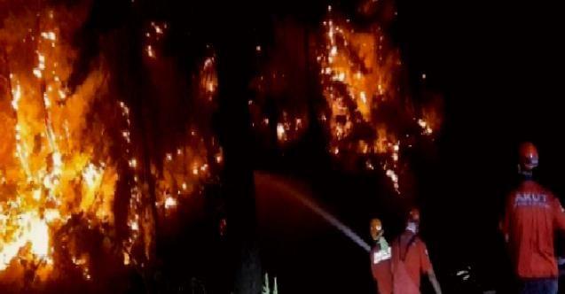 Muğla Kavaklıdere yangını kontrol altında