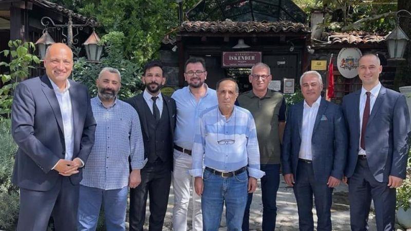 Murat Polat, Atlas Mutuel Sigorta acenteleriyle Bursa'da bir araya geldi