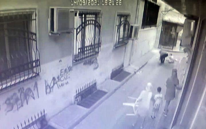 Zeytinburnu'ndaki kadın cinayeti kamerada