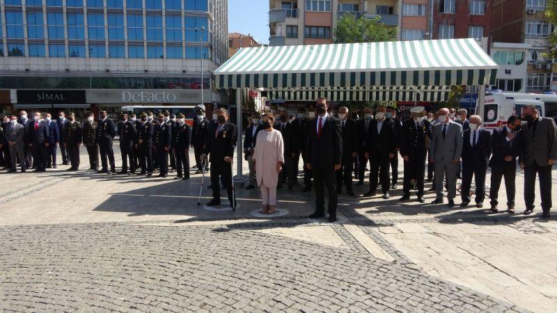 Uşak'ta 19 Eylül Gazile Günü törenle kutlandı
