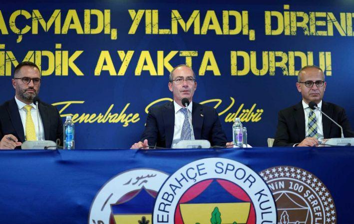"""Fethi Pekin: """"Fenerbahçe, başından beri dimdik durduğu bu mücadelede haklı olduğunu kanıtlamıştır"""""""