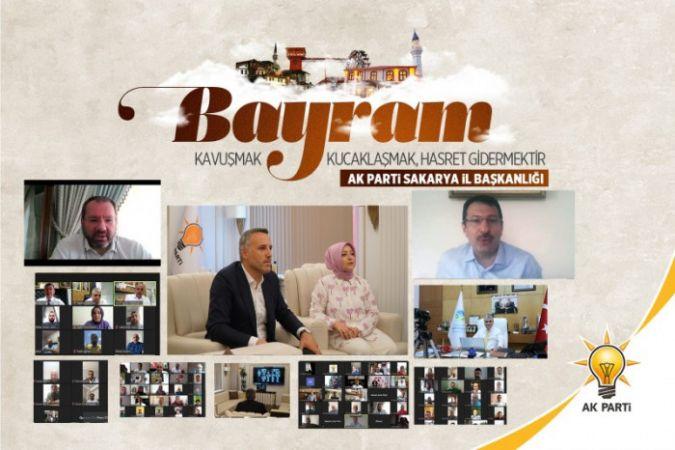 AK Parti Sakarya İl Teşkilatı Bayramlaştı