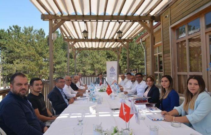 Akdeniz Belediyeler Birliği encümen toplantısı Sandıklı'da yapıldı