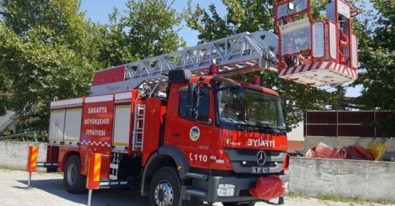Sakarya Büyükşehir'den Marmaris yangınına yardım eli!