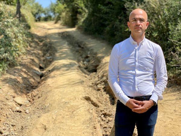 Serbes: Hasat başlamadan selden tahrip olan fındık bahçe yolları yapılmalı