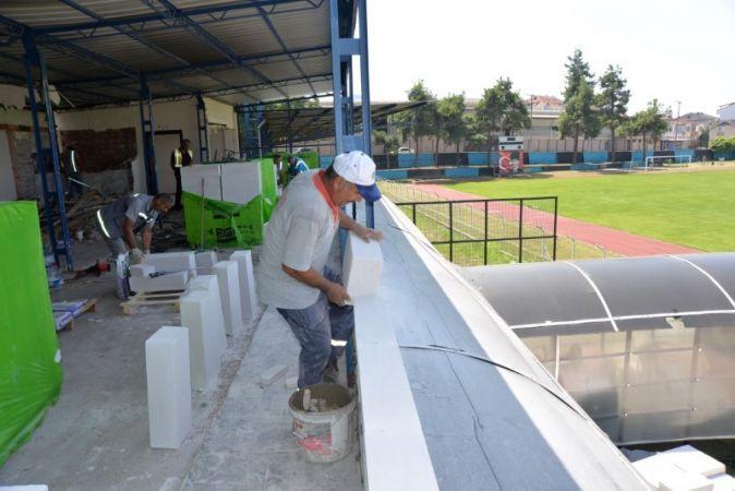 Hendek Atatürk Stadyumu 3. Lige Hazırlanıyor