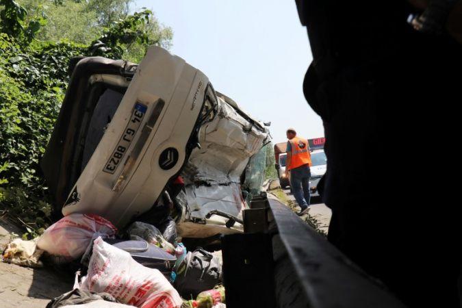 TEM'deki kazada ağır yaralanan 9 yaşındaki çocuktan acı haber geldi