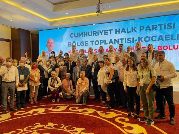 CHP İl Başkanı Bölge Toplantısına Katıldı