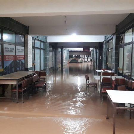 Sağanak yağış Karasu'yu kötü etkiledi