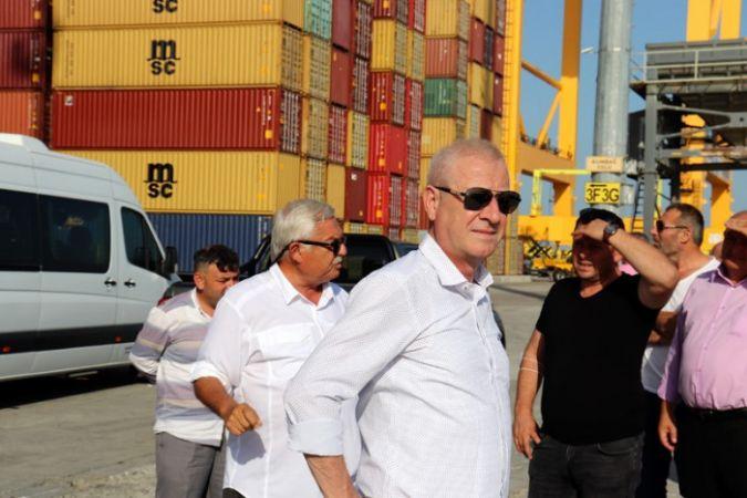 Başkan Sarı, Tekirdağ'da TBMM Başkanı Şentop'la görüştü