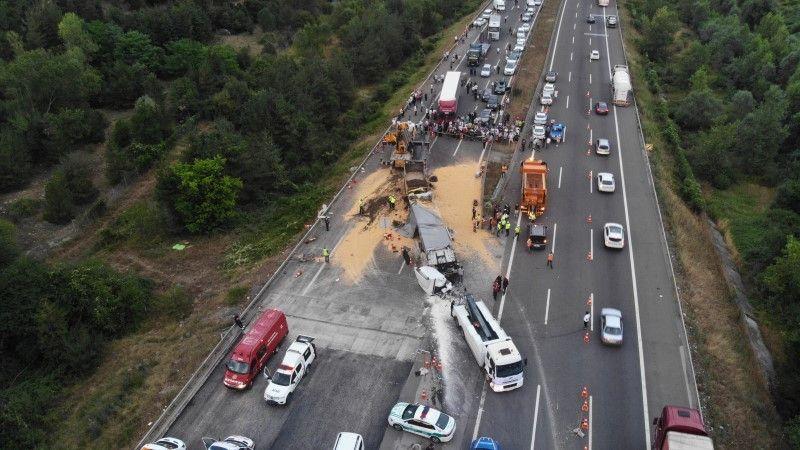 TEM saatler sonra trafiğe açıldı