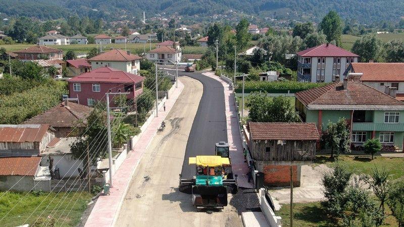 Akyazı Pazarköy mahallesinde çalışmalar sona eriyor