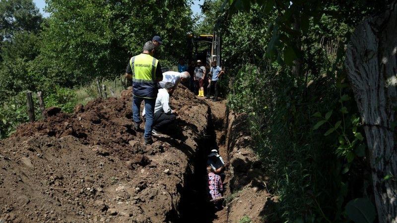 Hendek'in 18 mahallesinde fay kazı çalışması yapıldı