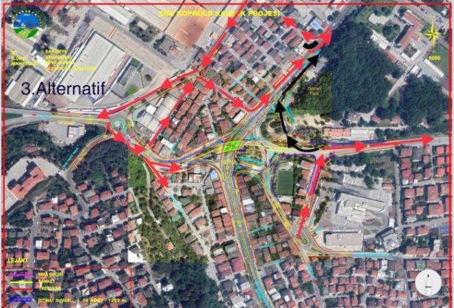 Köprülü kavşak projesi nedeniyle o cadde trafiğe kapatılacak