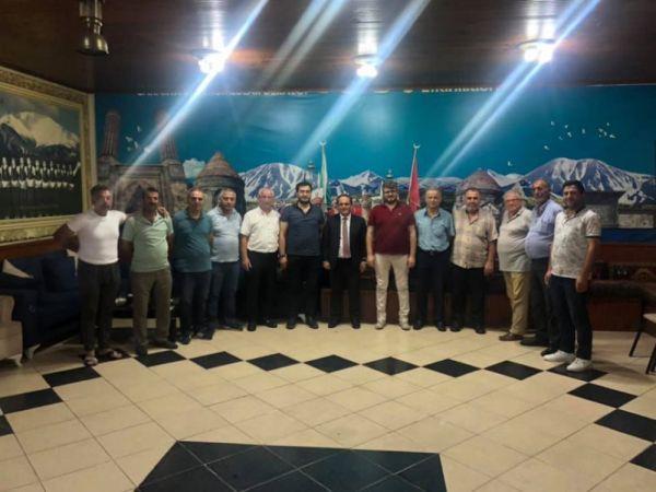 Başkan Ecevit Keleş, STK ziyaretlerini sürdürüyor