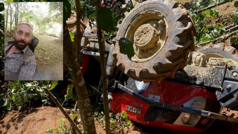 Traktörün altında kalmıştı yaşam mücadelesini kaybetti