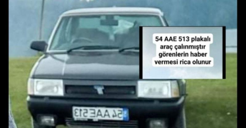 Çalıntı ihbarı yapılan aracı 15 yaşındaki genç kaçırmış