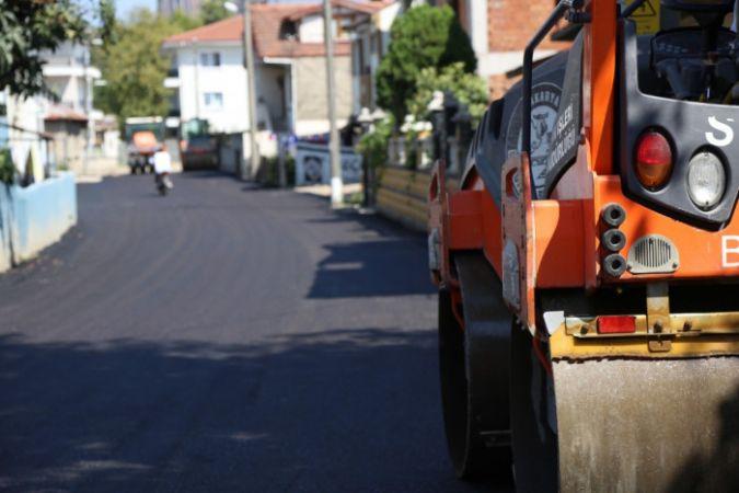 O mahalledeki tüm sokaklar yenileniyor