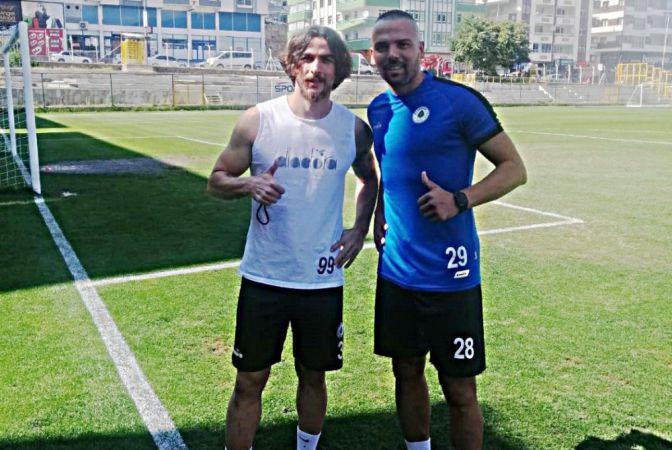 Hendekspor'un yeni transferleri kampa katıldı