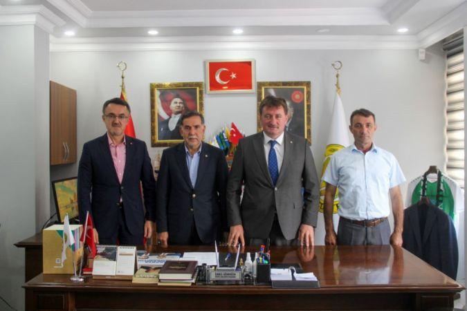 Genel Başkan Yardımcısı Ahmet Zenbilci'den Başkan Gündoğdu'ya ziyaret