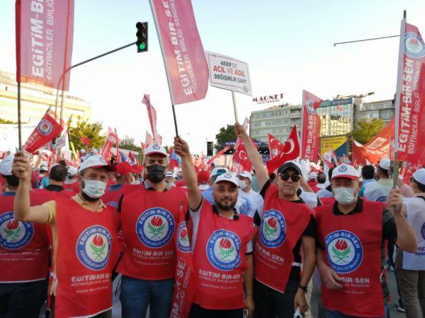 Memur-Sen'liler Ankara'da toplandı
