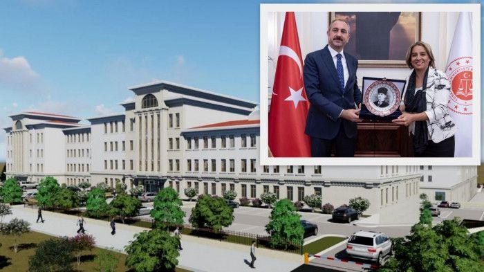 Baro Başkanı açıkladı: Yeni adliye binasının temeli 3 ay içinde atılacak