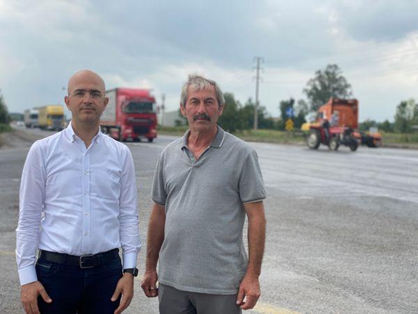 Serbes: Büyükesence Kavşağı'na acilen sinyalizasyon sistemi kurulmalı