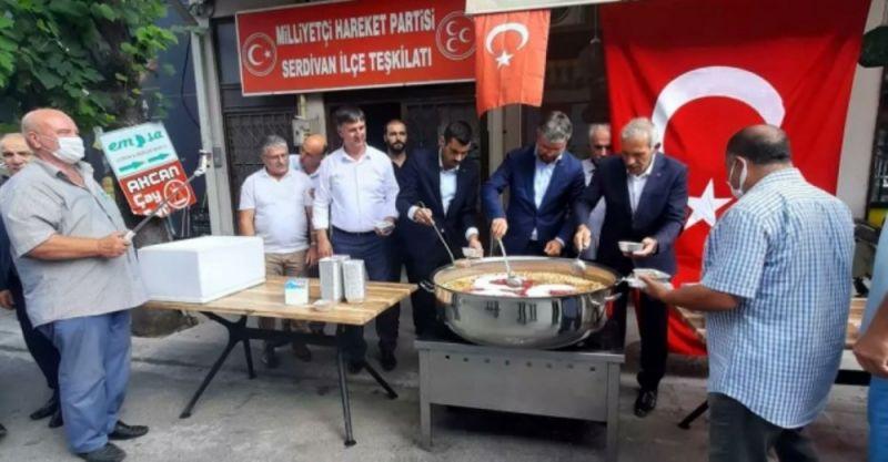 MHP Sakarya heyetinden Aşure etkinliği