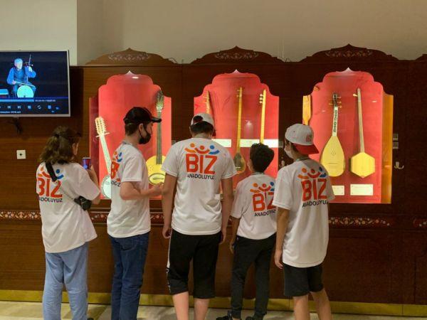 Serdivan Gençlik Merkezi Eskişehir'e misafir oldu