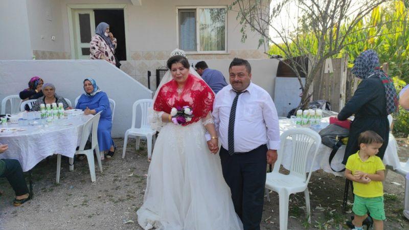 Görme engelli çiftin aşkı engel tanımadı