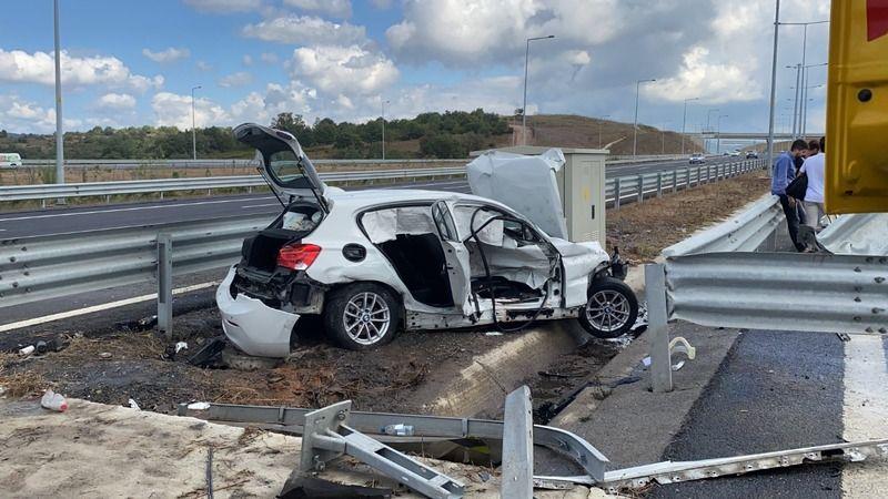 Kazada önlem almaya çalışan karayolları görevlisi hayatını kaybetti