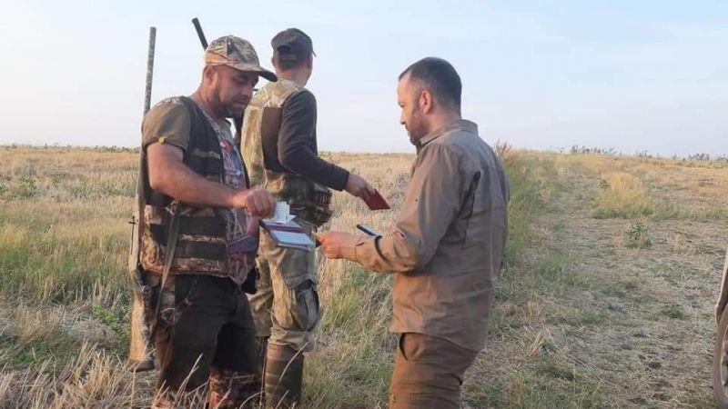 Avcılara denetim: 589 avcı denetlendi, 17'si kaçak avcı çıktı