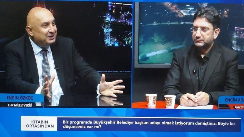 Özkoç'un hayali Büyükşehir Belediye Başkanlığı