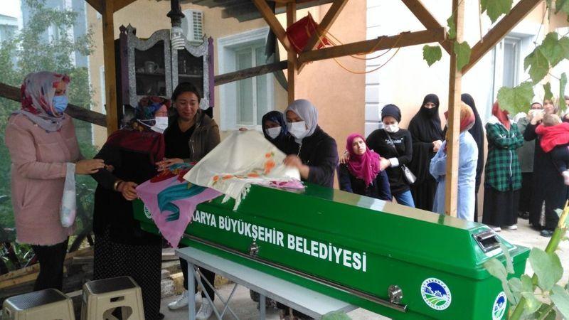 Kazada hayatını kaybeden Sevdanur son yolculuğuna uğurlandı