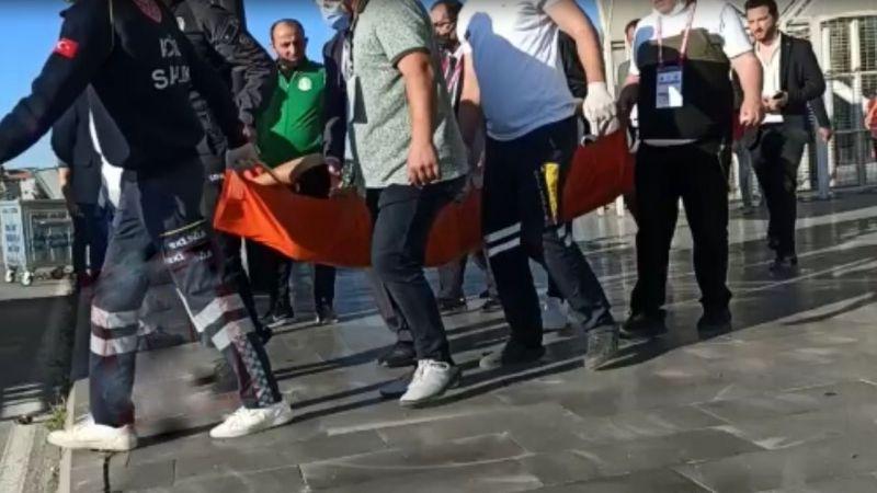 Bodrumsporlu yönetici maç öncesi fenalaştı