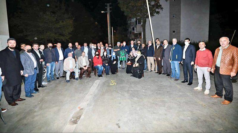 Başkan Mutlu Işıksu, Ozanlar mahallesini ziyaret etti