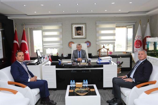 SATSO'dan Sakarya Cumhuriyet Başsavcısı Osman Köse'ye hayırlı olsun ziyareti