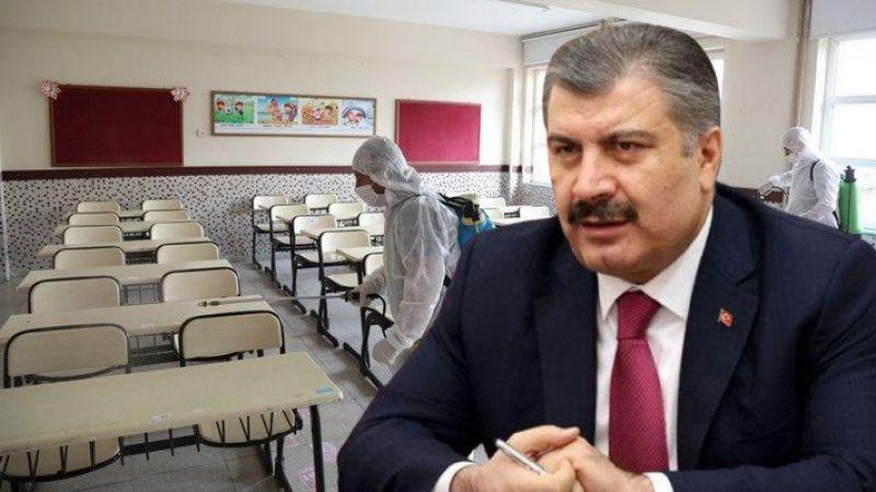 Çocuklarda vaka sayısı pik yaptı! Bakan Koca'dan okullarla ilgili açıklama