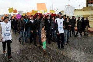 NİZİP İLÇESİNDE DANIŞTAY KARARI PROTESTO EDİLDİ