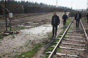 Demiryolunun Demirlerini Çaldılar