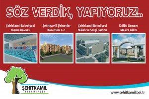 Şehitkamil Belediyesi 5 Projeyi 2010'da Tamamlayacak