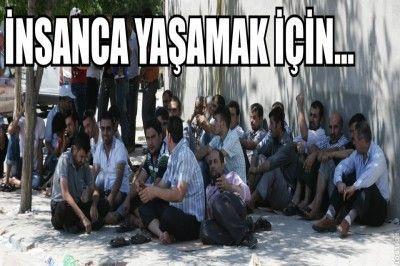 Gaziantep'te  Binlerce İşçilik Büyük Grev Dalgası...