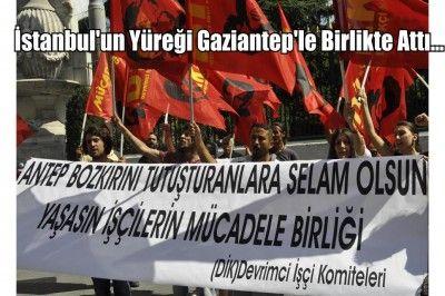 İstanbul'dan Gaziantep'e Destek...