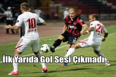 Gaziantepspor:0 Sivasspor: 0 (Maç devam ediyor)